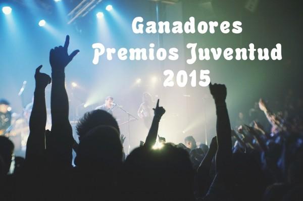 Ganadores Premios Juventud 2015