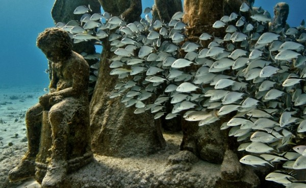 musa museo subacuatico de arte de cancun