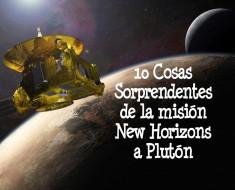 new horizons pluton imagenes
