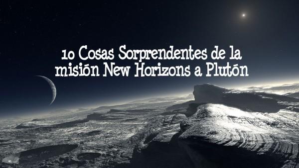 new horizons pluton sonda nasa