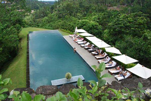 piscina Alila Ubud, Bali, Indonesia