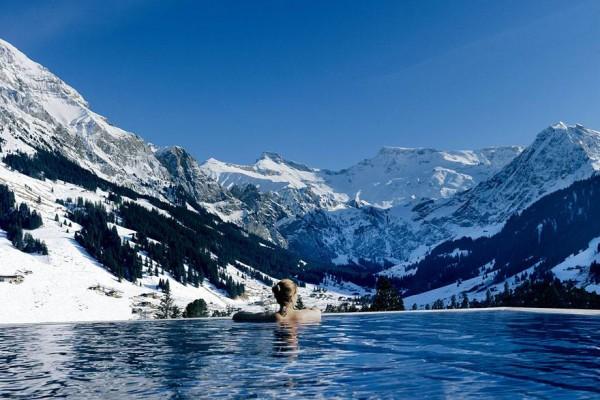 piscina Hotel Cámbrico, Adelboden, Suiza