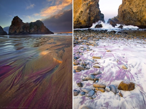 playa arena morada pfeiffer california