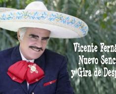 Vicente Fernández nuevo sencillo y gira 2016