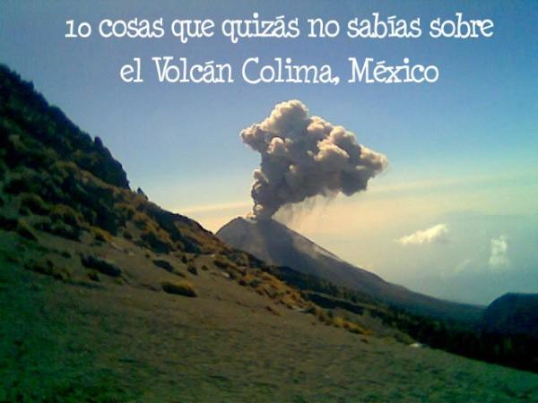 volcan de colima historia