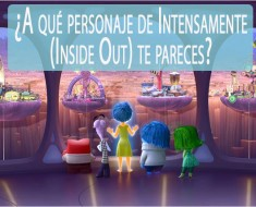 ¿A qué personaje de Intensamente (Inside Out) te pareces?