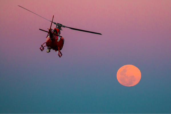 brisbane fotos de todo el mundo de la luna azul