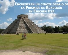 cenote piramide de kukulkan en chichen itza