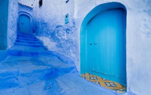 chefchaouen chaouen marruecos calles azules medina