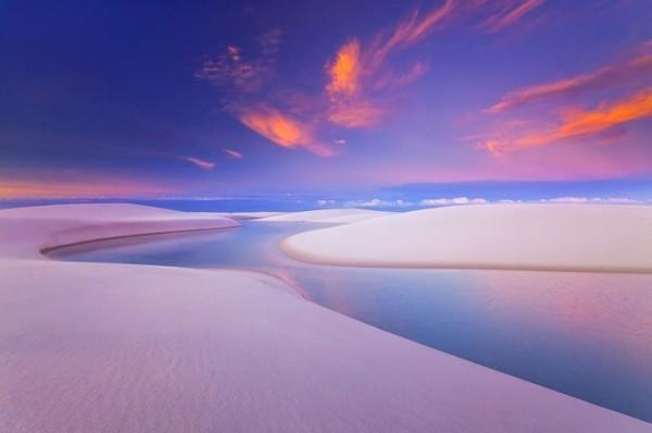 desierto lagunas parque nacional lencois maranhenses brasil