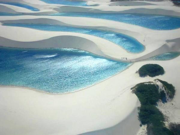 desierto parque nacional lencois maranhenses brasil