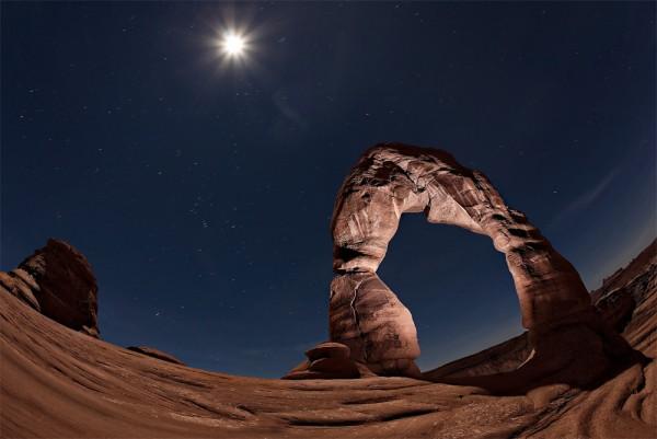 el delicado arco rocoso utah
