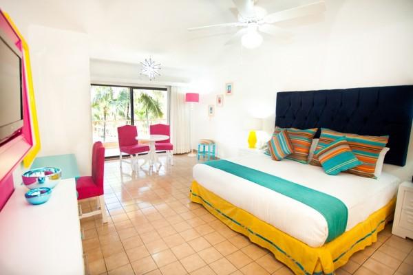 habitacion delux studio interior hotel villa del palmar beach resort and spa puerto vallarta