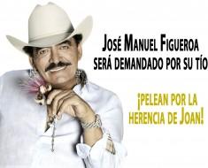 José Manuel Figueroa será demandado por su tío