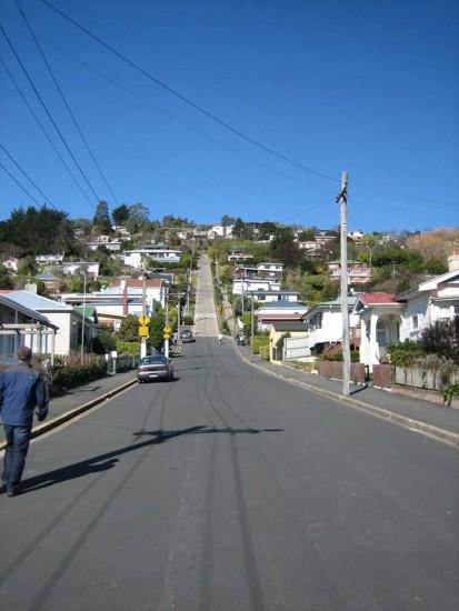 La calle mas empinada del mundo