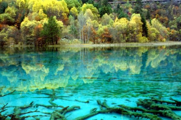 lago de las cinco flores china