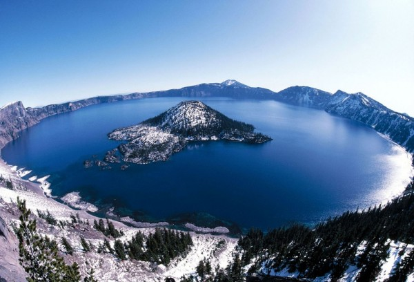 lago del crater oregon