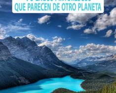 10 lagos pintorescos que parecen de otro planeta