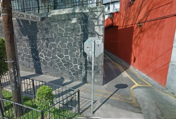 leyenda Callejón del Diablo en Mixcoac mexico df