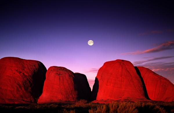 luna uluru ayers rock australia