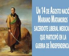 Mariano Matamoros y Guridi biografia corta