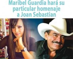 Maribel Guardia hará su particular homenaje a Joan Sebastian