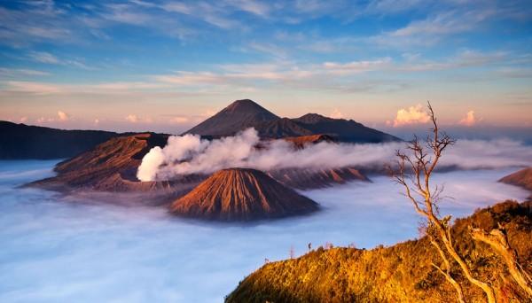 Monte Bromo y Monte Semeru, Java Oriental, Indonesia