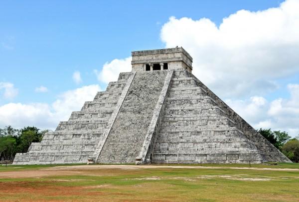 piramide de kukulkan en chichen itza