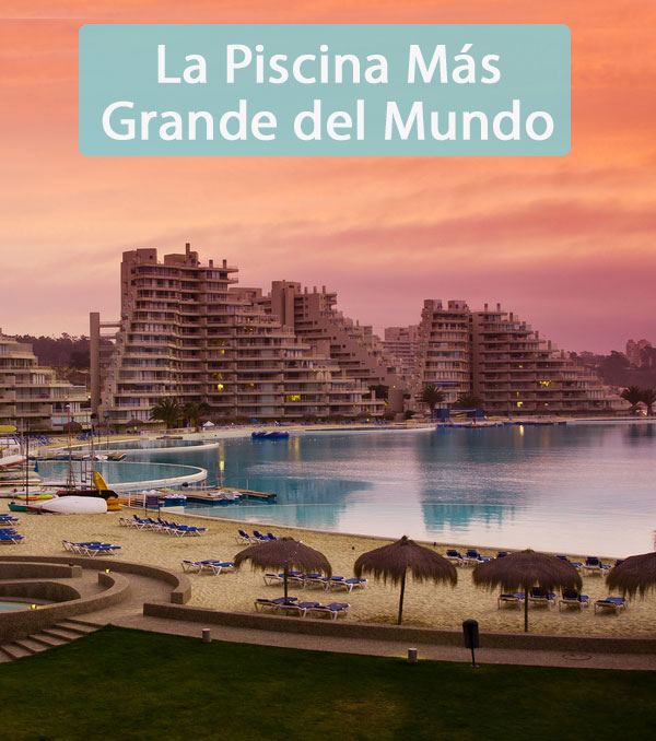 La piscina m s grande del mundo coyotitos for Piscina mas grande del mundo chile