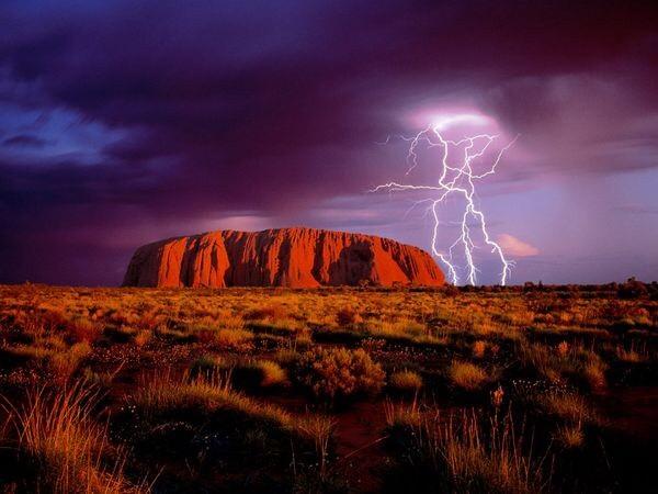 rayo uluru ayers rock australia