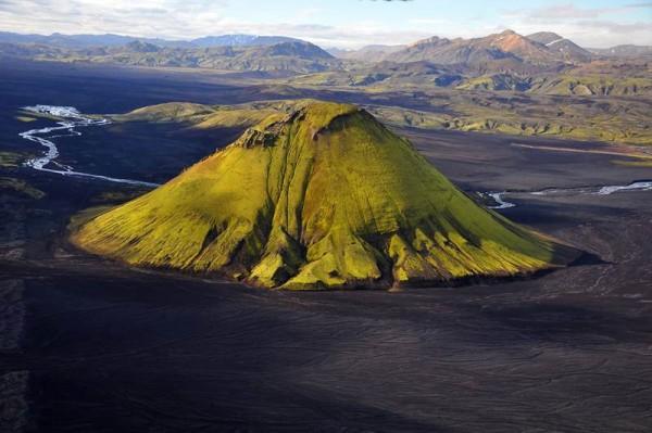 Volcán Maelifell, Islandia