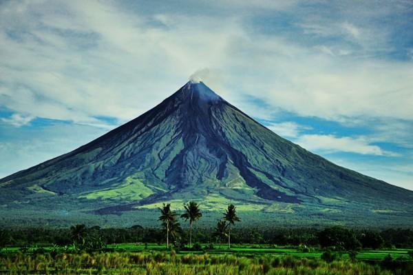 Volcán Mayon, Albay, Filipinas