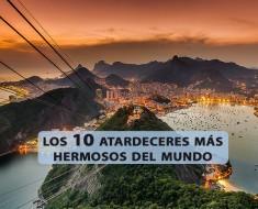 Los 10 atardeceres más hermosos del mundo