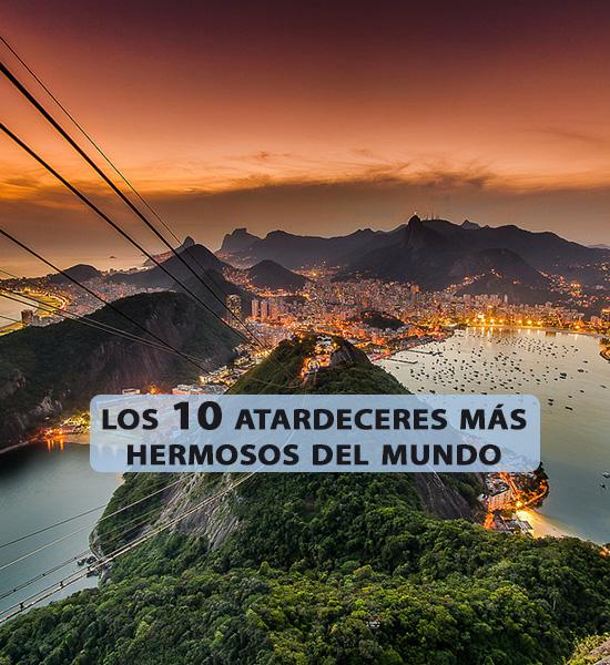 Los 10 atardeceres más hermosos del mundo | Coyotitos
