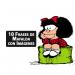 10 Frases de Mafalda con Imagen