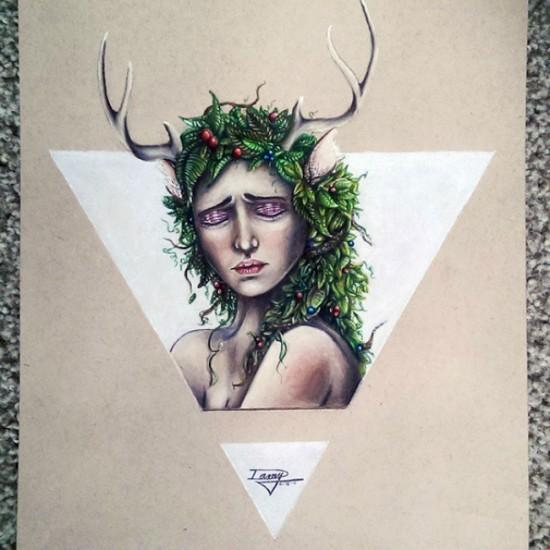 artista autodidacta mexicana 17 años