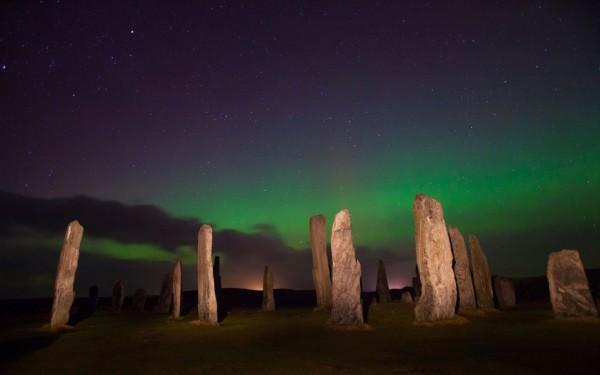auroras boreales escocia