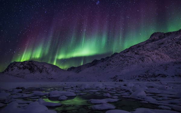 auroras boreales groenlandia