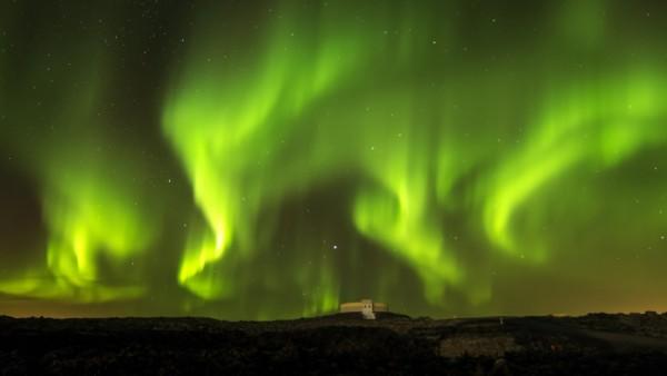 auroras boreales sin photoshop