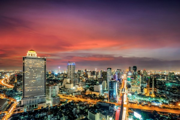bangkok imagenes de noche