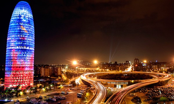 barcelona imagenes de noche