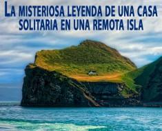 casa solitaria isla Elliðaey islandia