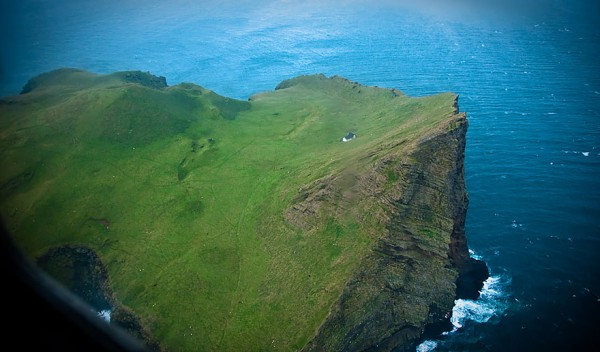 casa solitaria isla islandia