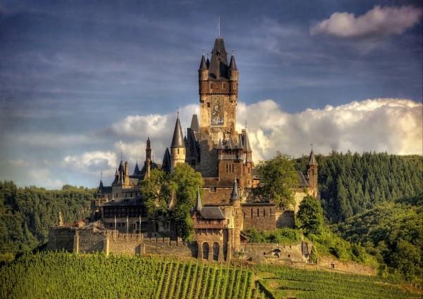 Castillo de Reichsburg, Alemania