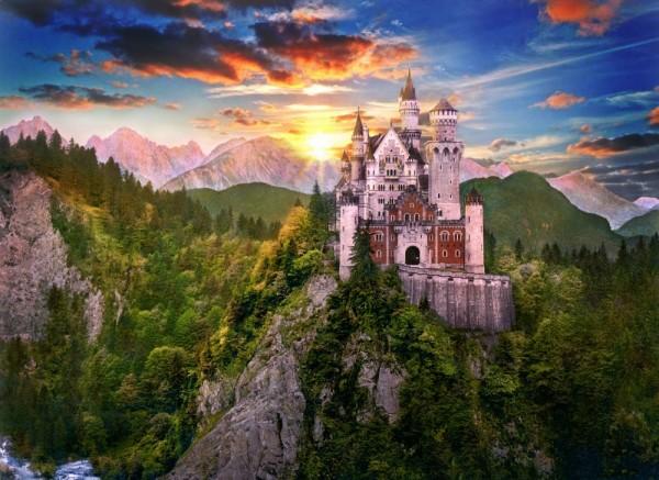 el castillo de cuento de hadas neuschwanstein