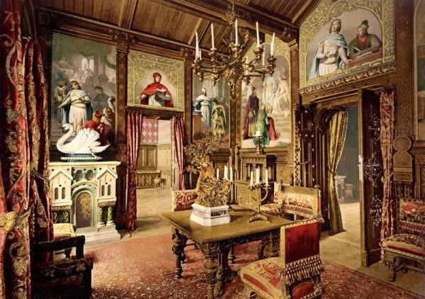 fotos interior castillo neuschwanstein