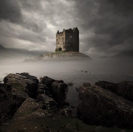Castillo Stalker, Escocia