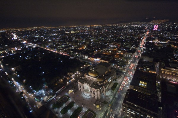 ciudad de mexico imagenes de noche