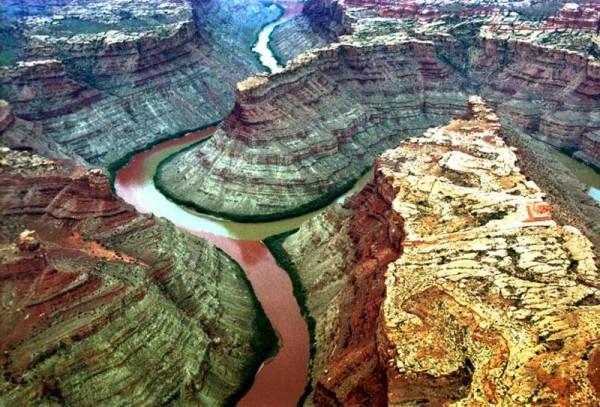 Confluencia de los Ríos Colorado y Verde (Parque Nacional Tierra de Cañones, UT, EE.UU.)