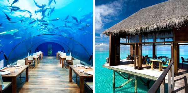 Conrad Maldives Rangali Island en las Maldivas